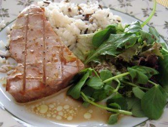 bifes de atum - Receitas da