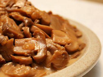 Carne de Porco com Cogumelos - Receitas da Tia Céu