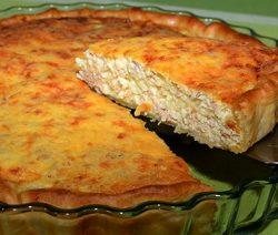 quiche de atum e delicias do mar - Receitas da Tia Céu