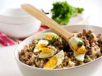 Salada de Feijão Frade com Atum – Receitas da Tia Céu
