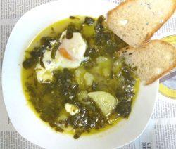 Sopa de Beldroegas - Receitas da Tia Céu
