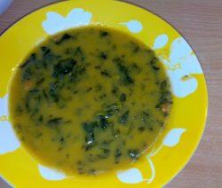 Sopa de Feijão com Espinafres - Receitas da Tia Céu