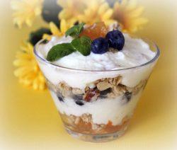 Delícia de maçã e iogurte - Receitas da Tia Céu