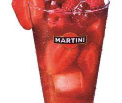 Martini Rosato com Morangos - Receitas da Tia Céu