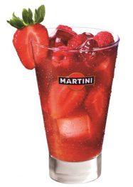Martini Rosato com Morangos – Receitas da Tia Céu