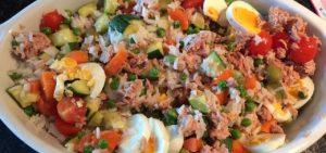 salada arroz atum bimby - Receitas da Tia Céu