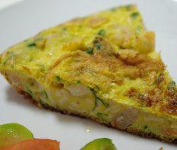 Tortilha de Camarão - Receitas da Tia Céu