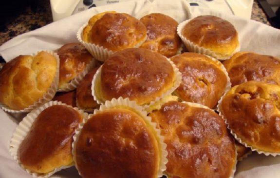 queques de carne - Receitas da Tia Céu