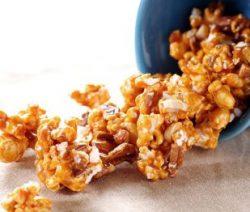 Pipoca caramelada - Receitas da Tia Céu