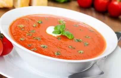 sopa de tomate - Receitas da Tia Céu