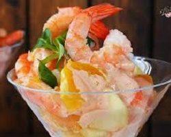 cocktail de camarão - Receitas da Tia Céu