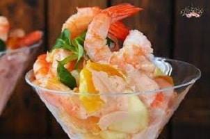 cocktail de camarão – Receitas da Tia Céu