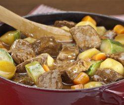 carne com legumes - Receitas da Tia Céu
